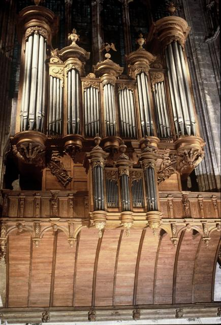 Grand orgue de la Cathédrale de Bourges