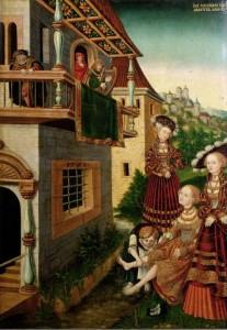 David et Bethsabée, Wolfgang_Krodel 1528