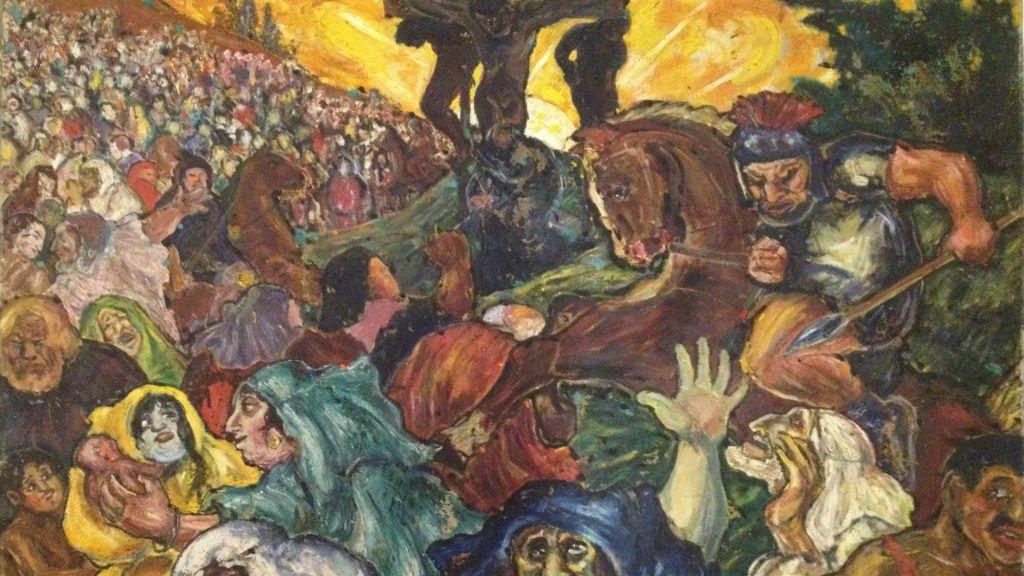 la-Crucifiction, Fritz-Ascher, 1918