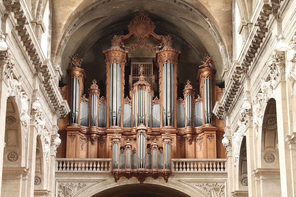 Orgue cathédrale de Nancy