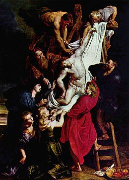 Descente de la Croix, Rubens