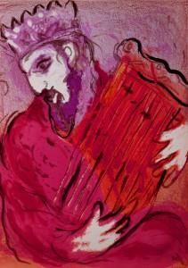 Chagall 1956 David