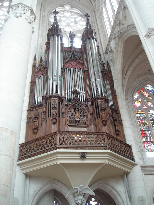 Orgue HAERPFER (1992) Basilique saint Nicolas de Port