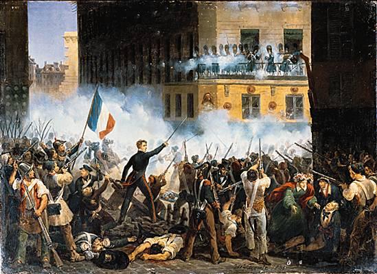 Juillet 1830, Hippolyte LECOMTE